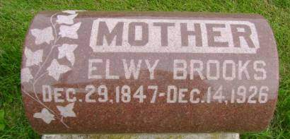 BROOKS, ELWY - Hancock County, Iowa | ELWY BROOKS