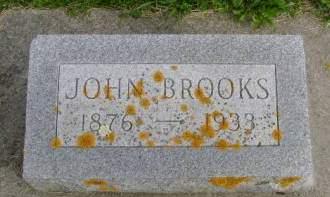 BROOKS, JOHN - Hancock County, Iowa | JOHN BROOKS