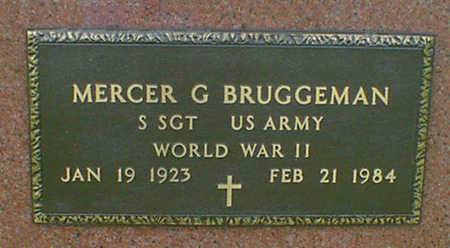 BRUGGEMAN, MERCER G - Hancock County, Iowa | MERCER G BRUGGEMAN