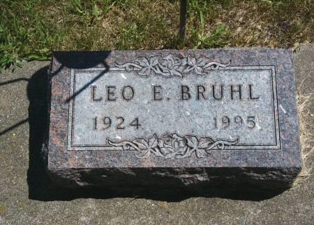 BRUHL, LEO E - Hancock County, Iowa | LEO E BRUHL
