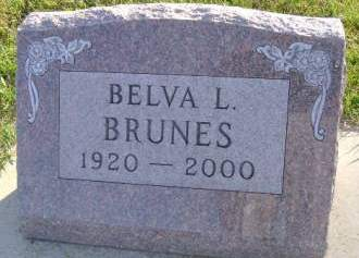 BRUNES, BELVA L - Hancock County, Iowa | BELVA L BRUNES