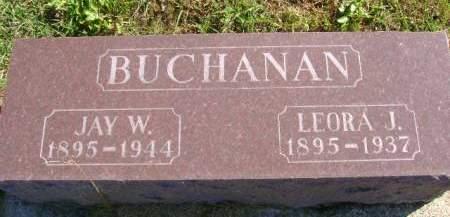 BUCHANAN, JAY W - Hancock County, Iowa | JAY W BUCHANAN