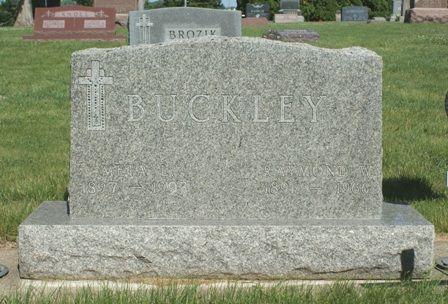 BUCKLEY, RAYMOND W - Hancock County, Iowa | RAYMOND W BUCKLEY