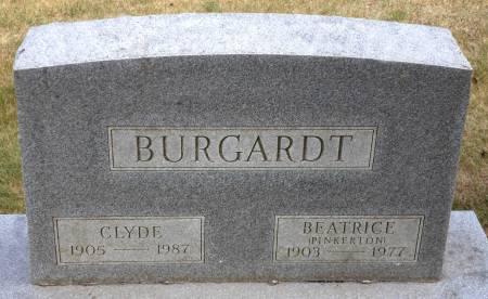 BURGARDT, BEATRICE - Hancock County, Iowa   BEATRICE BURGARDT