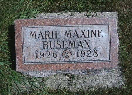 BUSEMAN, MARIE M - Hancock County, Iowa | MARIE M BUSEMAN