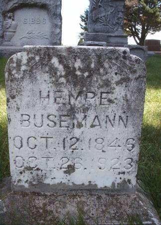 BUSEMANN, HEMPE - Hancock County, Iowa | HEMPE BUSEMANN
