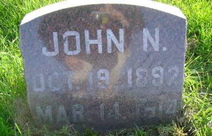 BUSICK, JOHN N - Hancock County, Iowa | JOHN N BUSICK