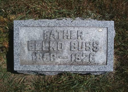 BUSS, EELKO - Hancock County, Iowa | EELKO BUSS