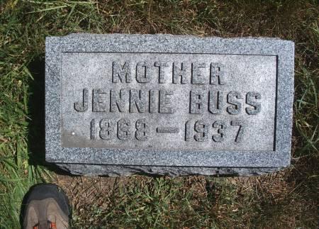 BUSS, JENNIE - Hancock County, Iowa   JENNIE BUSS