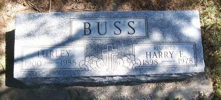 BUSS, HARRY F - Hancock County, Iowa | HARRY F BUSS