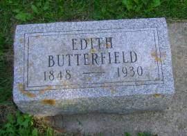 BUTTERFIELD, EDITH - Hancock County, Iowa | EDITH BUTTERFIELD