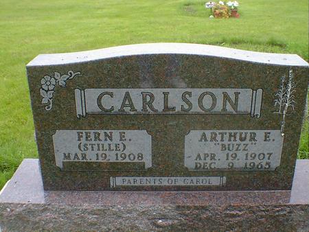 CARLSON, ARTHUR E