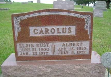 CAROLUS, ELSIE - Hancock County, Iowa | ELSIE CAROLUS