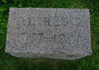 CARPENTER, ALFRED C - Hancock County, Iowa | ALFRED C CARPENTER