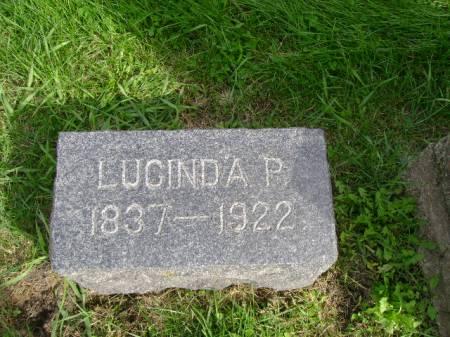 CARPENTER, LUCINDA P - Hancock County, Iowa | LUCINDA P CARPENTER