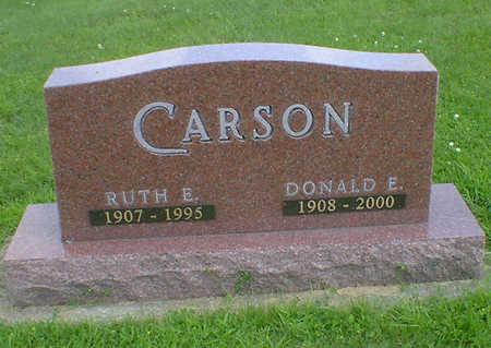 CARSON, DONALD E - Hancock County, Iowa | DONALD E CARSON