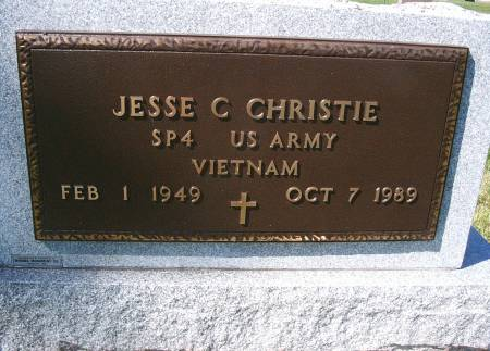 CHRISTIE, JESSE C - Hancock County, Iowa | JESSE C CHRISTIE