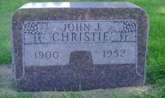 CHRISTIE, JOHN J - Hancock County, Iowa | JOHN J CHRISTIE