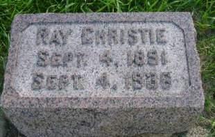 CHRISTIE, RAY - Hancock County, Iowa | RAY CHRISTIE