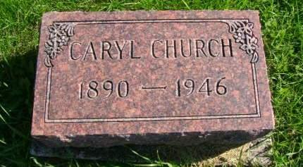 CHURCH, CARYL - Hancock County, Iowa | CARYL CHURCH