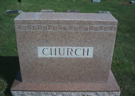CHURCH, FAMILY MONUMENT - Hancock County, Iowa | FAMILY MONUMENT CHURCH