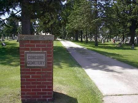CONCORD A.K.A. GARNER, CEMETERY - Hancock County, Iowa | CEMETERY CONCORD A.K.A. GARNER
