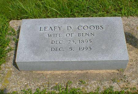 COOBS, LEAFY D - Hancock County, Iowa | LEAFY D COOBS