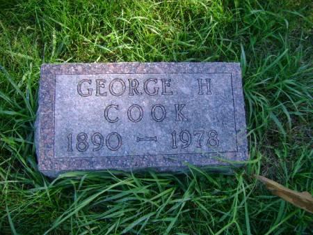 COOK, GEORGE H - Hancock County, Iowa | GEORGE H COOK