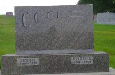 COOK, VIRGIL A - Hancock County, Iowa   VIRGIL A COOK