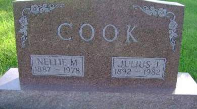 COOK, NELLIE M - Hancock County, Iowa | NELLIE M COOK