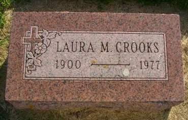 CROOKS, LAURA M - Hancock County, Iowa | LAURA M CROOKS