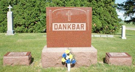 DANKBAR, FAMILY MONUMENT - Hancock County, Iowa | FAMILY MONUMENT DANKBAR