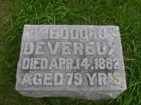 DEVEREUX, THEODORUS - Hancock County, Iowa   THEODORUS DEVEREUX