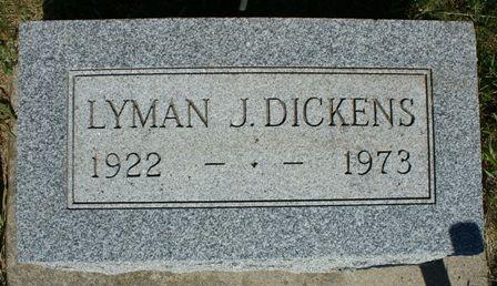 DICKENS, LYMAN J - Hancock County, Iowa   LYMAN J DICKENS
