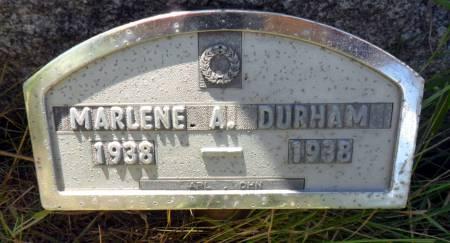 DURHAM, MARLENE A - Hancock County, Iowa | MARLENE A DURHAM