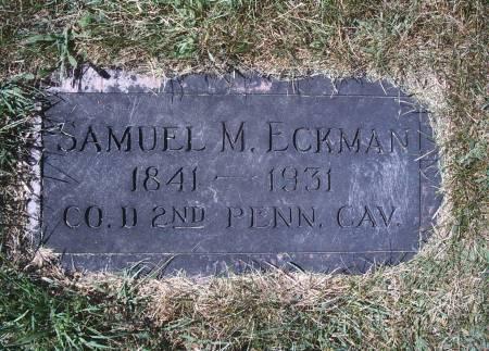 ECKMAN, SAMUEL M - Hancock County, Iowa | SAMUEL M ECKMAN