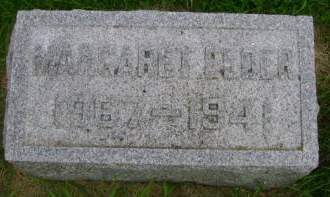 ELDER, MARGARET - Hancock County, Iowa | MARGARET ELDER