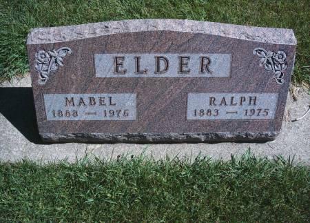 FULLER ELDER, MABEL - Hancock County, Iowa | MABEL FULLER ELDER