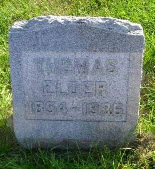 ELDER, THOMAS - Hancock County, Iowa | THOMAS ELDER
