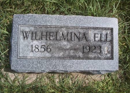NEURITER ELL, WILHELMINA - Hancock County, Iowa | WILHELMINA NEURITER ELL