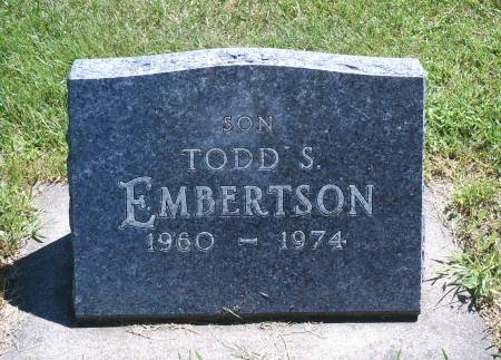 EMBERTSON, TODD S - Hancock County, Iowa | TODD S EMBERTSON