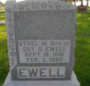 EWELL, ETHEL M - Hancock County, Iowa | ETHEL M EWELL