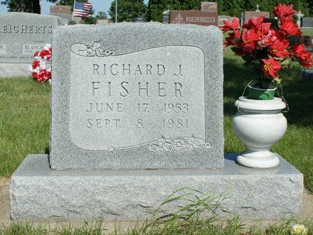 FISHER, RICHARD J - Hancock County, Iowa   RICHARD J FISHER