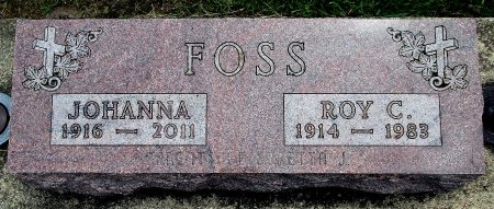FOSS, ROY C - Hancock County, Iowa | ROY C FOSS