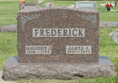 FREDERICK, JAMES A - Hancock County, Iowa | JAMES A FREDERICK