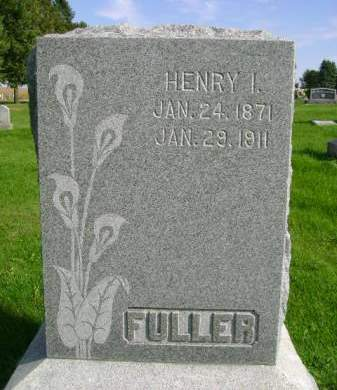 FULLER, HENRY I - Hancock County, Iowa | HENRY I FULLER