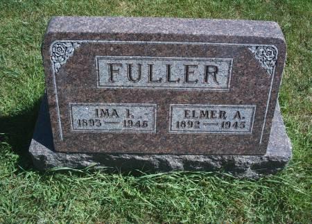 FULLER, ELMER A - Hancock County, Iowa | ELMER A FULLER