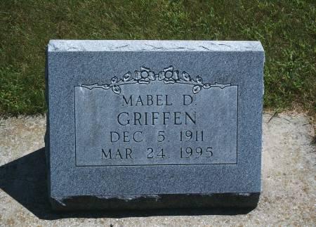 GEIFFEN, MABEL D - Hancock County, Iowa | MABEL D GEIFFEN