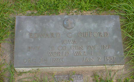 GIFFORD, EDWARD C - Hancock County, Iowa | EDWARD C GIFFORD