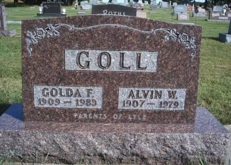 GOLL, ALVIN W - Hancock County, Iowa | ALVIN W GOLL